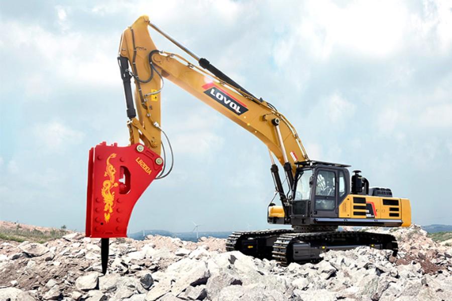 雷沃重工FR560E2-HD履带挖掘机