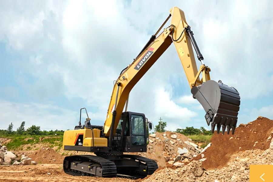 雷沃重工FR205E2-H履带挖掘机