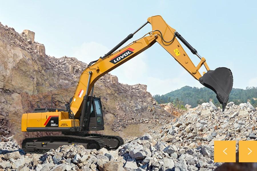雷沃重工FR260E2-H履带挖掘机