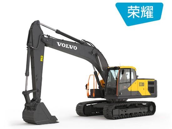 沃尔沃EC200履带挖掘机