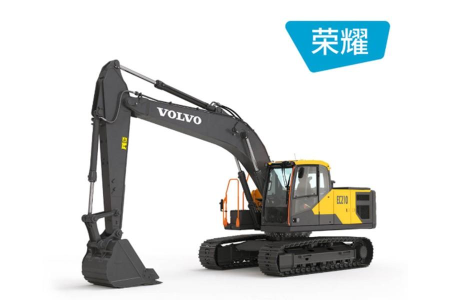 沃尔沃EC210履带挖掘机