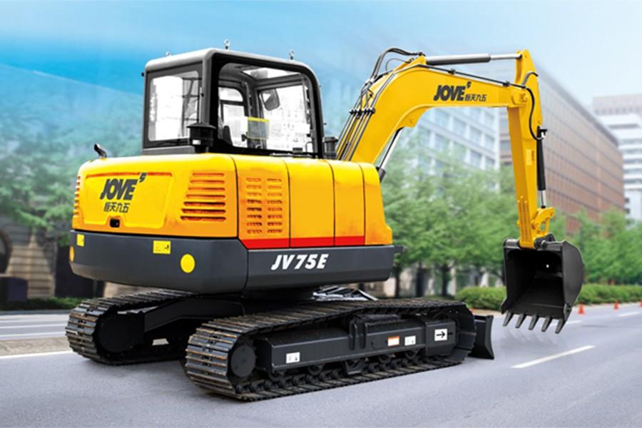 恒天九五JV75E履带挖掘机