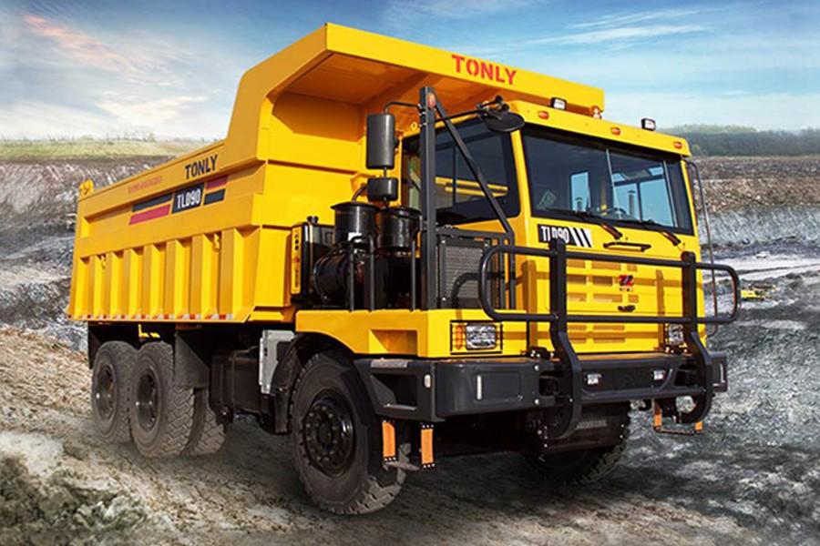 同力重工TLD90非公路宽体自卸车