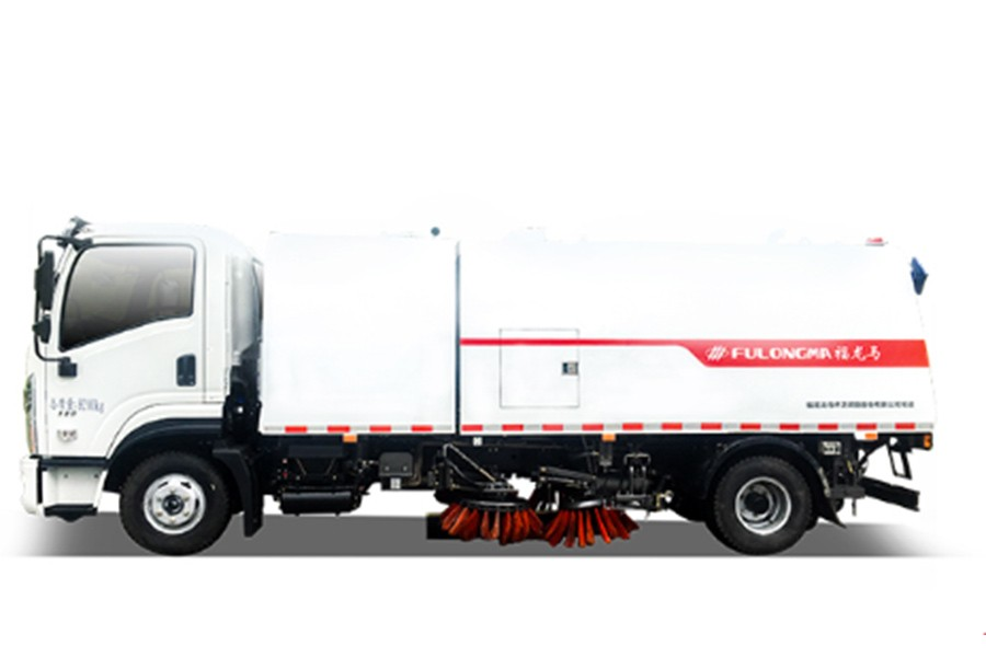 福龙马FLM5080TXSDF6NGS清扫车