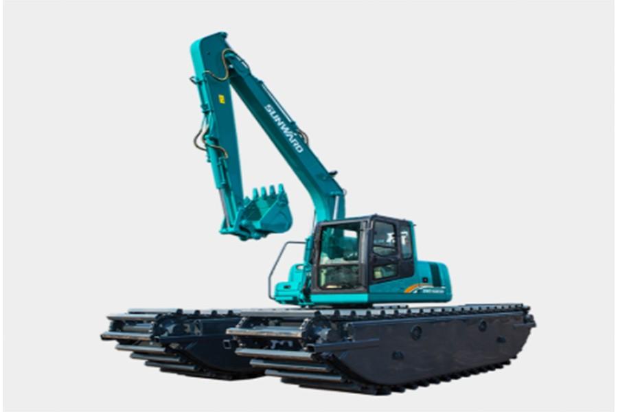 山河智能SWE300SD濕地挖掘機