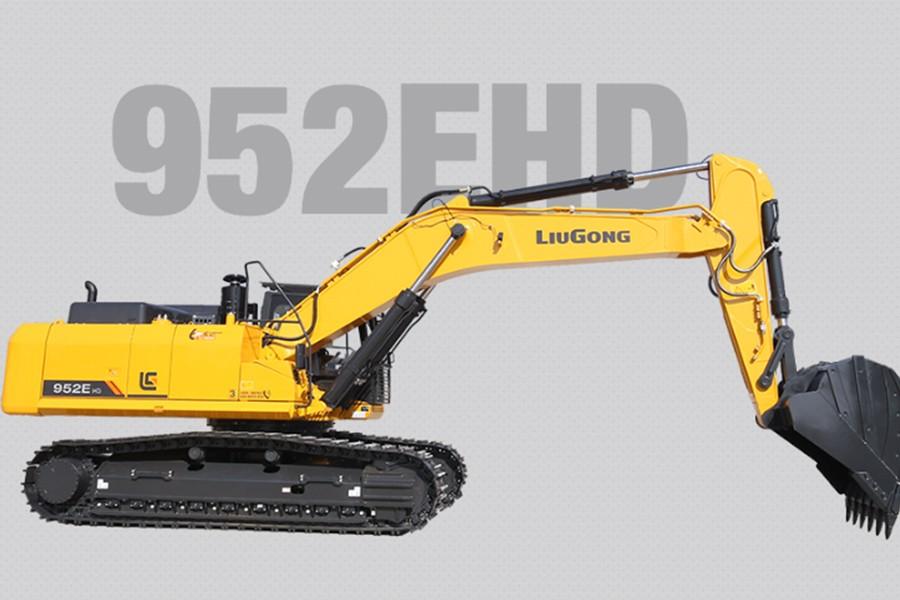 柳工952EHD履带挖掘机