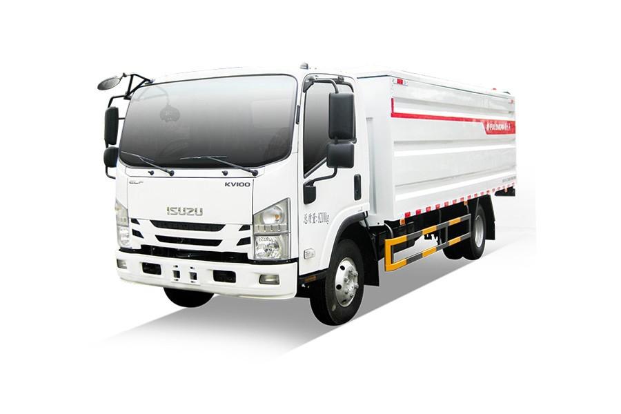 福龙马FLM5080XTYQL6桶装垃圾运输车