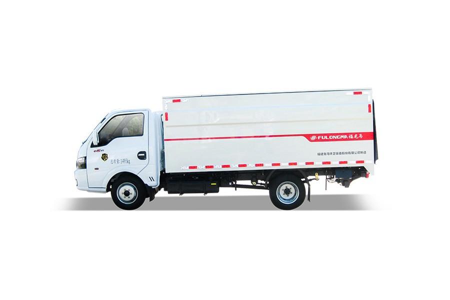 福龙马FLM5030XTYDG6桶装垃圾运输车