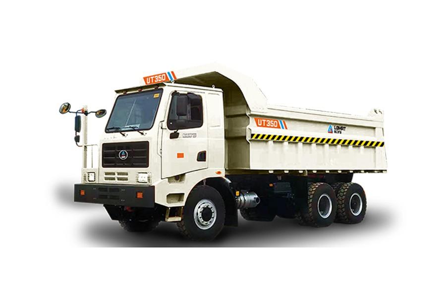 临工矿山UT350坑口卡车