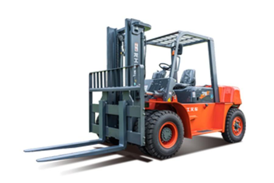 龙工CPCD50-L内燃平衡重叉车