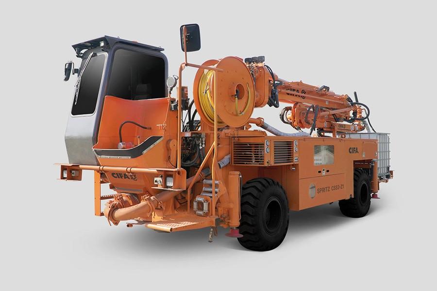 中联重科CSS3-Z1喷湿机