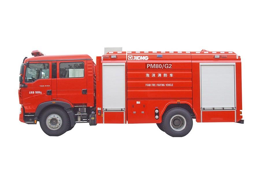 徐工PM80G2罐类消防车