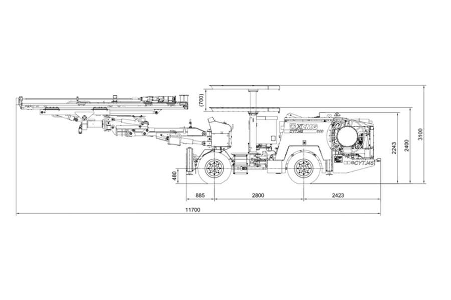 徐工XJM91多功能钻机
