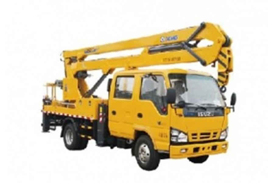 徐工XGS5066JGKJ614米折臂高空作业车