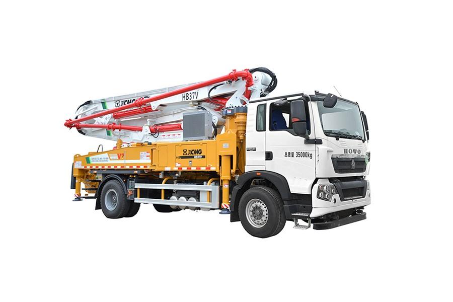 徐工HB37V(斯太尔)混凝土泵车
