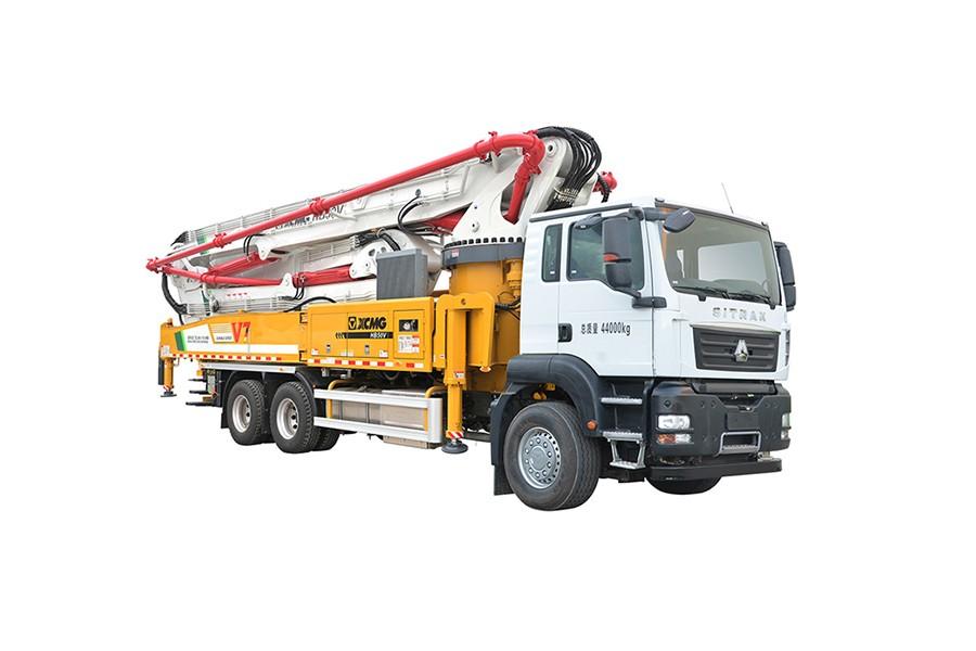 徐工HB50V(汕德卡)混凝土泵车