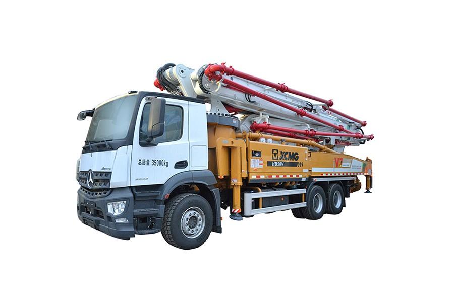 徐工HB62V(奔驰)混凝土泵车
