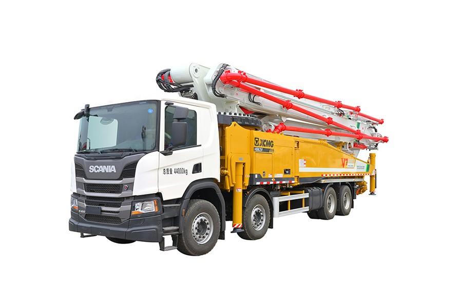 徐工HB62V(斯堪尼亚)国六混凝土泵车