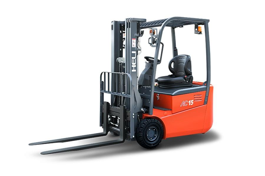 合力CPD13SHG系列1.3吨后驱三支点蓄电池平衡重式叉车