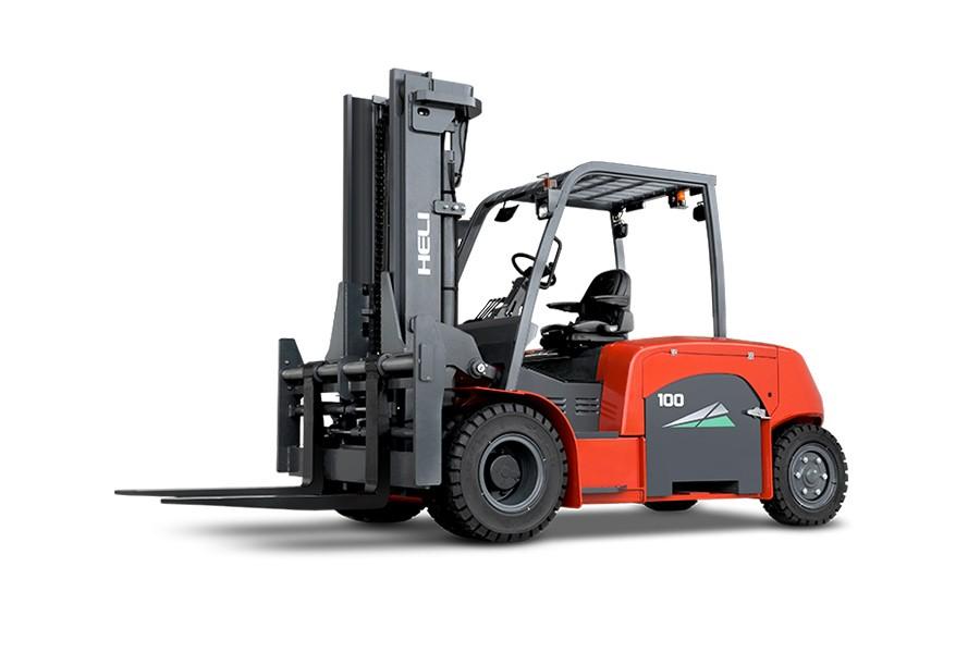 合力CPD100G系列蓄电池平衡式叉车