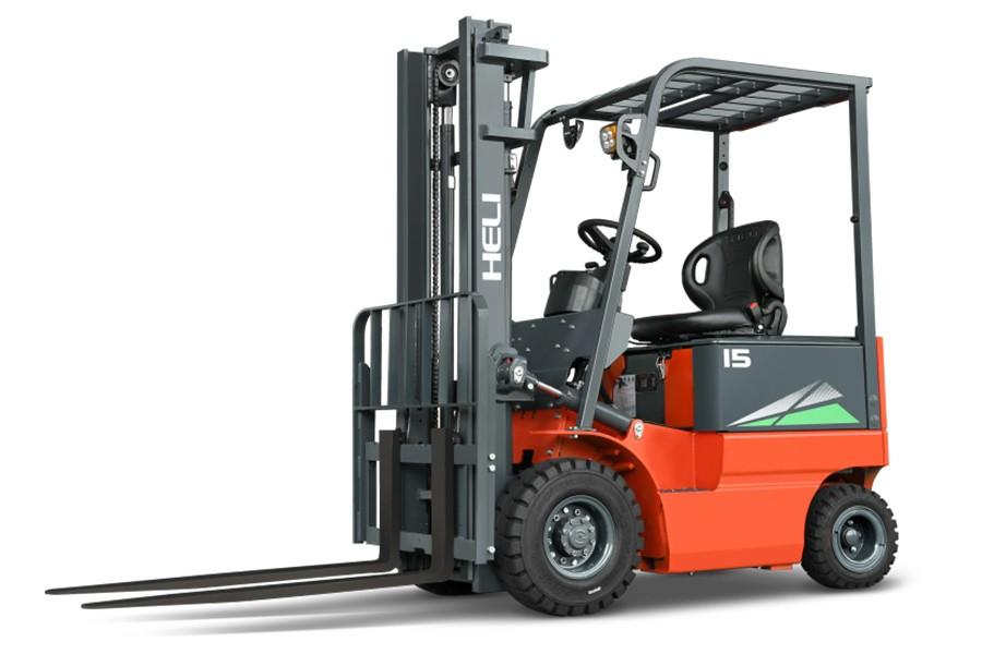 合力CPD15四支点H系列1.5吨窄车身蓄电池平衡重式叉车