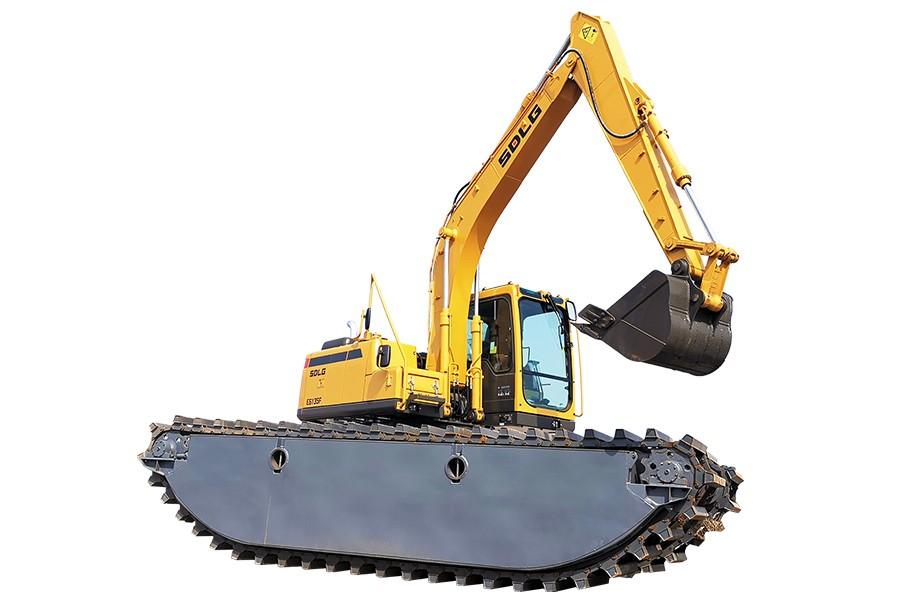 山东临工E6135F特种挖掘机