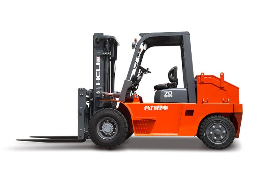 合力H系列6-7吨锂电池平衡重式叉车锂电池平衡重式叉车