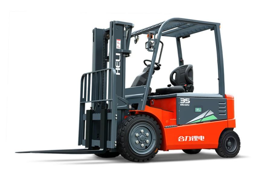 合力H3系列3-3.5吨锂电池平衡重式叉车锂电池平衡重式