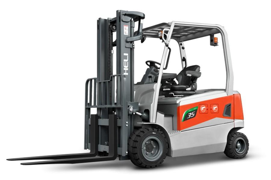 合力G3系列3-3.5t锂电池平衡重式叉车锂电池平衡重式叉