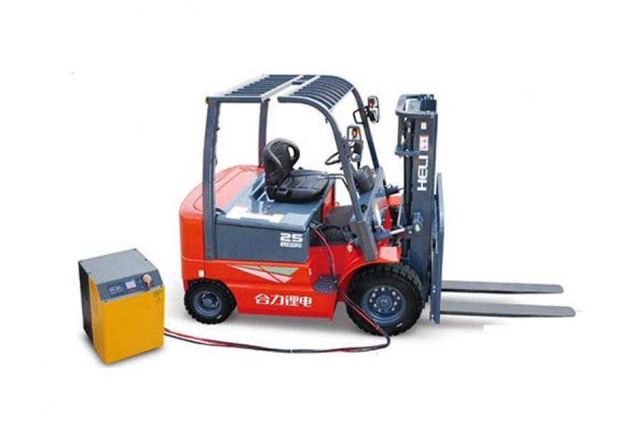合力H3系列1-2.5吨锂电池平衡重式叉车锂电池平衡重式