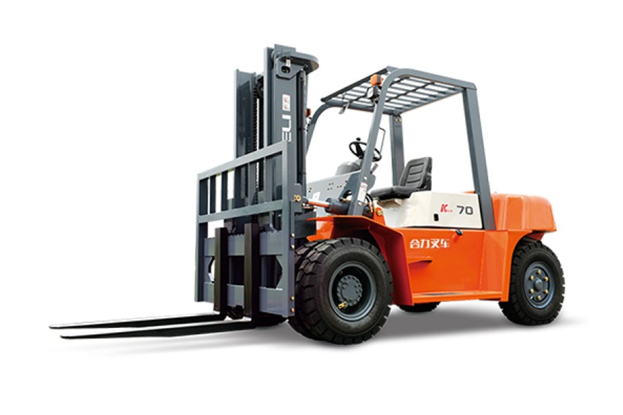 合力K系列5-7吨柴油平衡重式叉车柴油平衡重式叉车