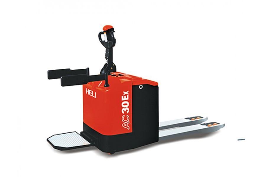 合力2-3吨防爆蓄电池托盘搬运车防爆蓄电池托盘搬运车