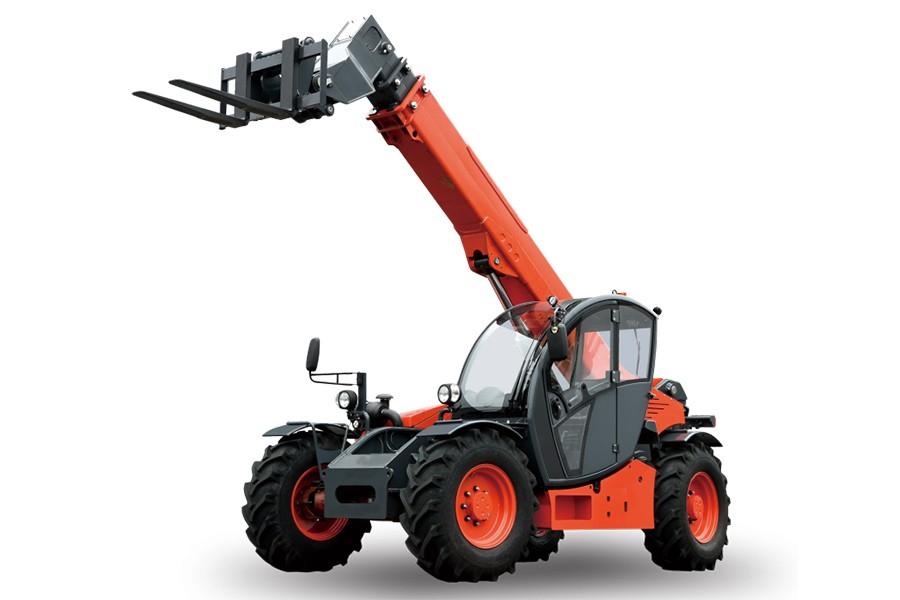 合力3.5-4吨伸缩臂越野叉车伸缩臂越野叉车