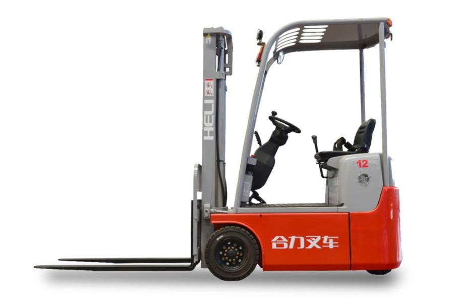 合力H3系列0.6-1.2吨前驱三支点蓄电池叉车前驱三支点