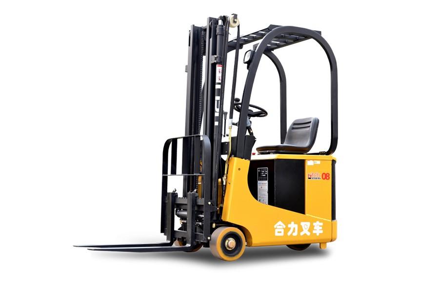 合力H2000系列0.6-1.2吨后驱三支点蓄电池叉车后驱三支点蓄电池叉车