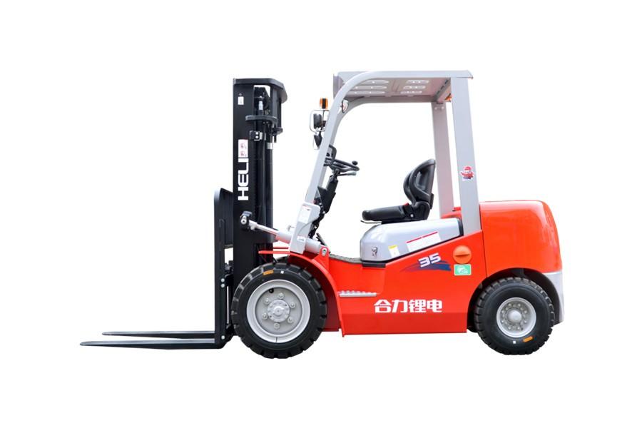 合力K2系列3-3.5吨高压锂电池叉车高压锂电池叉车