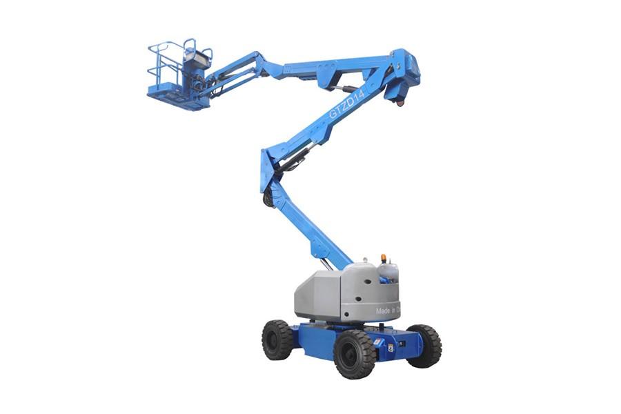 河南垣发Z-40E(电池)曲臂式高空作业平台