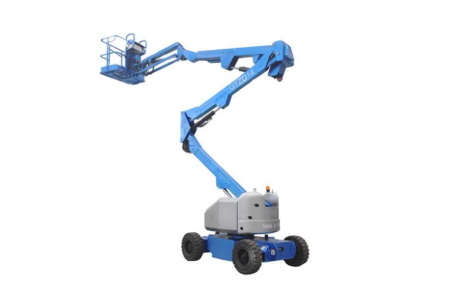 河南垣发Z-52(发动机)曲臂式高空作业平台