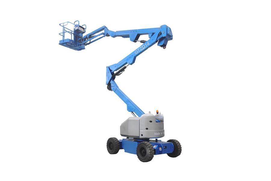 河南垣发Z-60(发动机)曲臂式高空作业平台