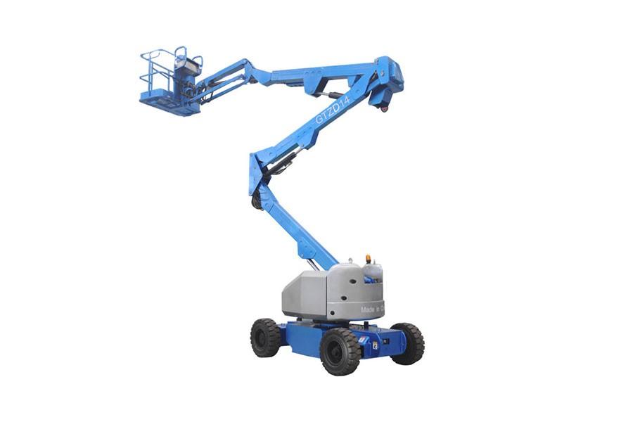 河南垣发Z-66(发动机)曲臂式高空作业平台