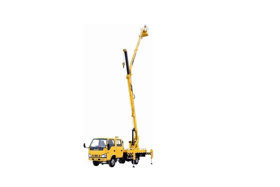 河南垣发JHC5070JGKA18.2米折叠臂高空作业车