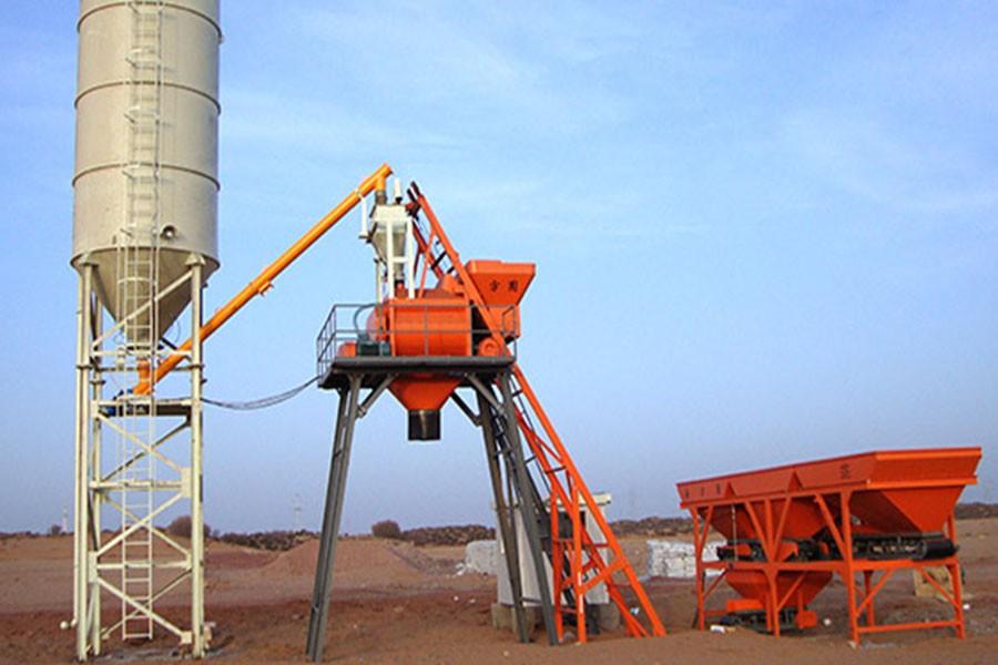 方圆HZS35Z系列组合式混凝土搅拌站
