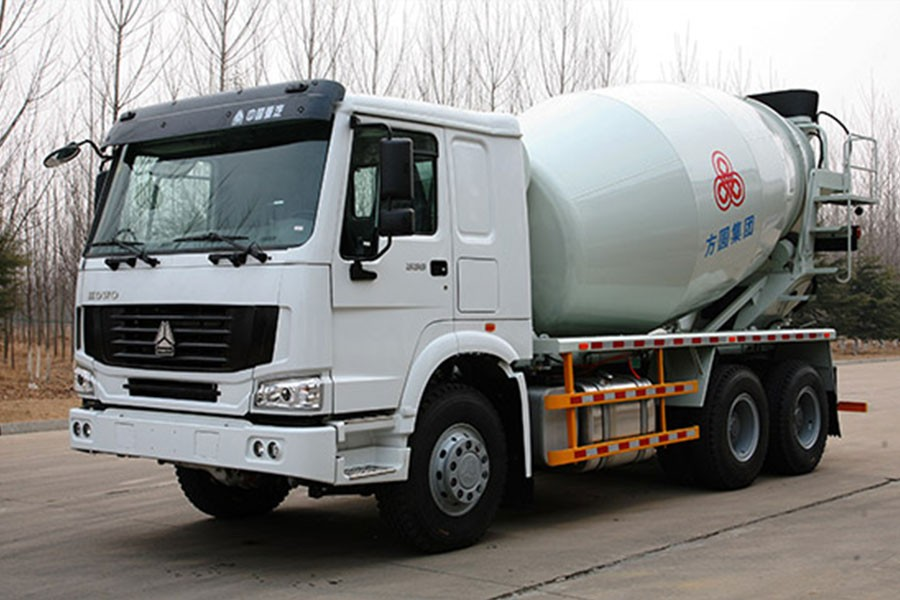 方圆FYG5257GJB混凝土搅拌运输车