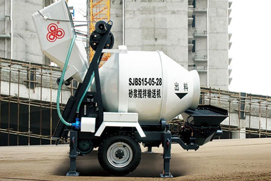 方圆SJBS20-08-37砂浆搅拌输送机