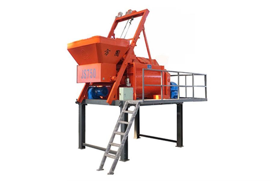 方圆集团JS750-2.7米混凝土搅拌机