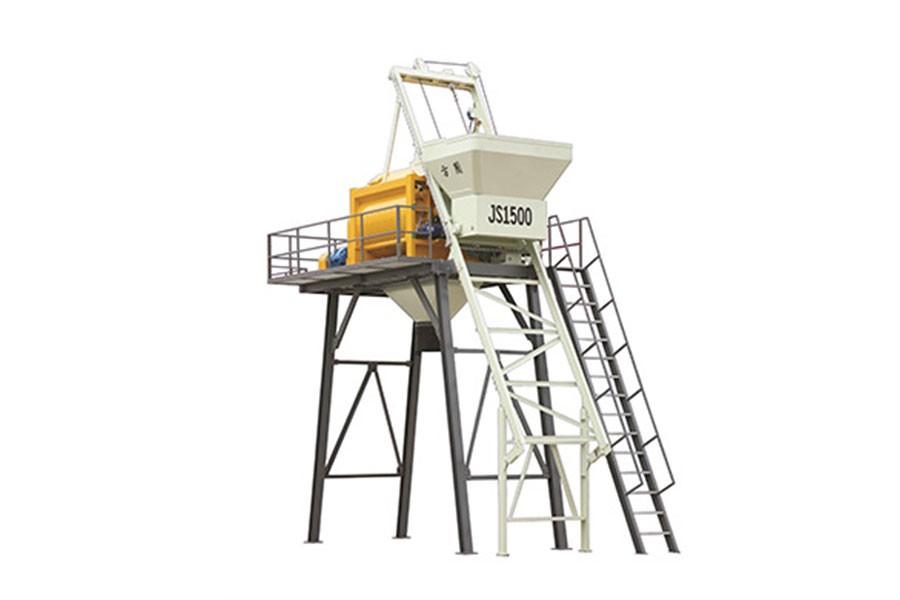 方圆集团JS1500-2.7米混凝土搅拌机