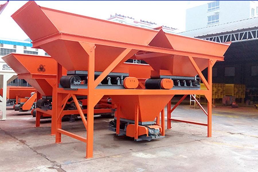 方圆PLD1200(两种料)混凝土配料机