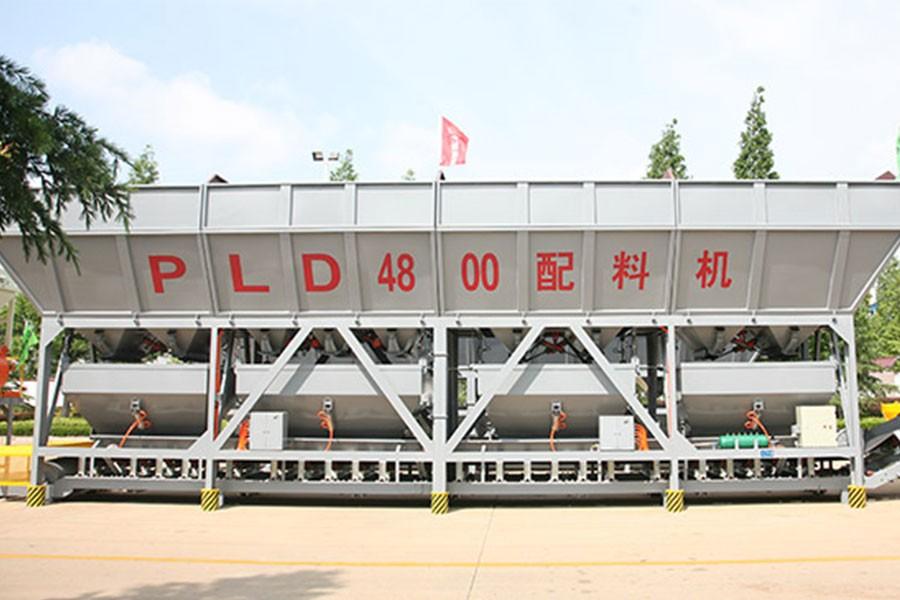 方圆PLD4800(四种料,气动给料,单独计量)混凝土配料