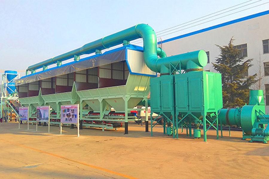 方圆HBWBZ400-D环保型稳定拌合站