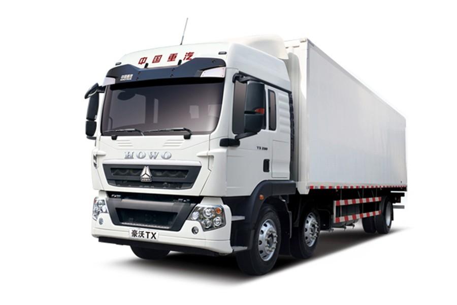 中國重汽豪沃 TX6×2豪華版載貨車